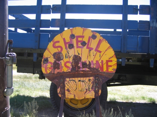 Bodie Shell Sign