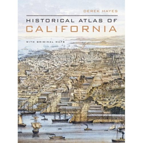 Historical Atlas of California Cover