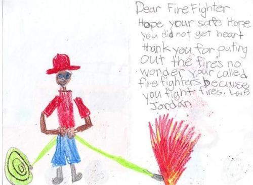Children's letter
