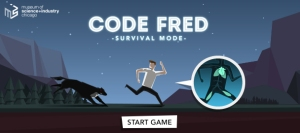 Meet Fred.  Poor Fred.(Click image to play the game.)