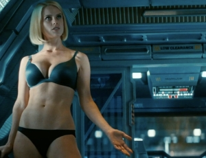 Is that Starfleet regulation-issue matching tease-your-superior -officer underwear?