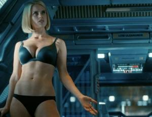 Is that Starfleet regulation-issue matching tease-your-superior -officer underwear?